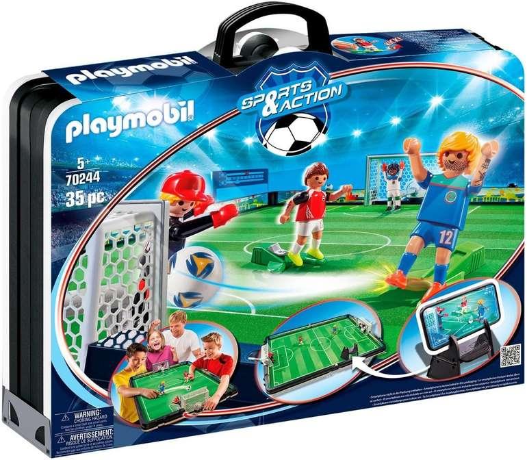 Playmobil Sports & Action (70244) - Fußballarena & Spielfiguren für 30€ inkl. Versand (statt 36€)