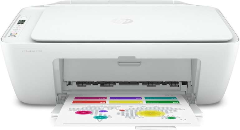 HP DeskJet 2710 Thermal Inkjet Multifunktionsdrucker mit WLAN für 59,90€ inkl. Versand (statt 90€)