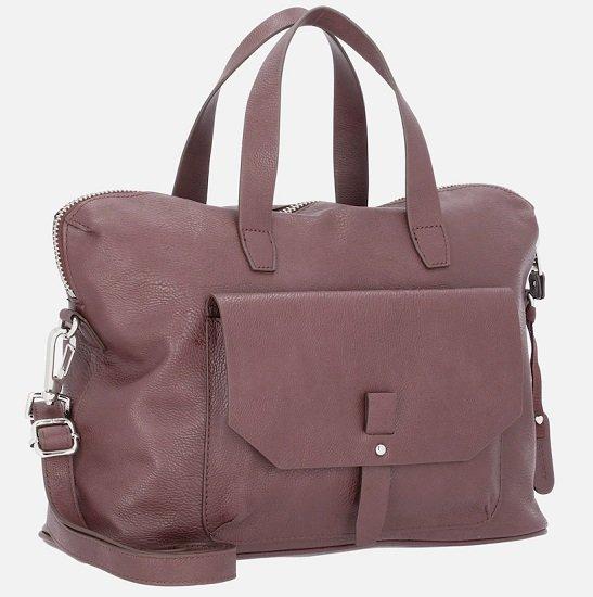 Esprit Handtasche Isa in Bordeaux Red (Lederimitat) für 37,79€ (statt 54€)