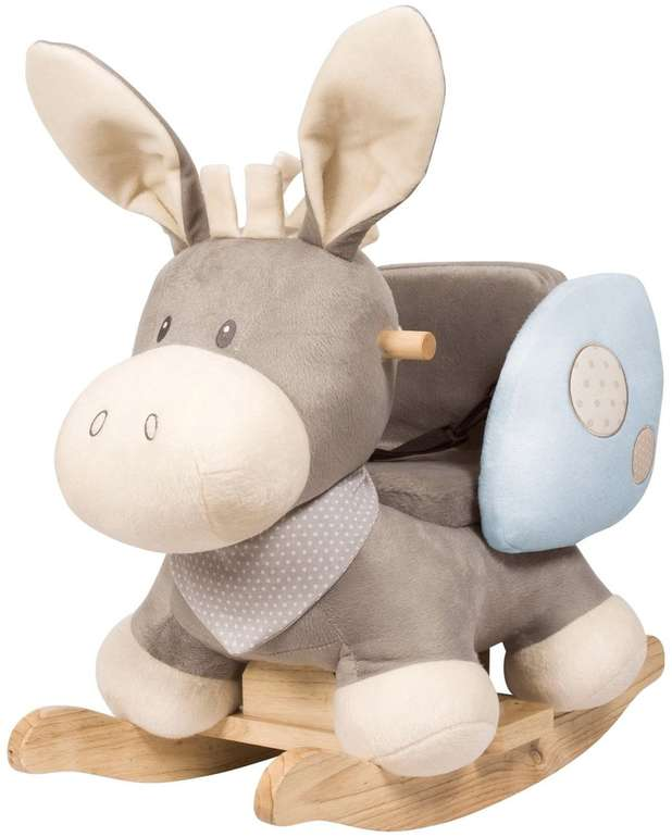 Nattou Schaukeltier Esel Cappuccino grau für 74,99€ inkl. Versand (statt 95€)