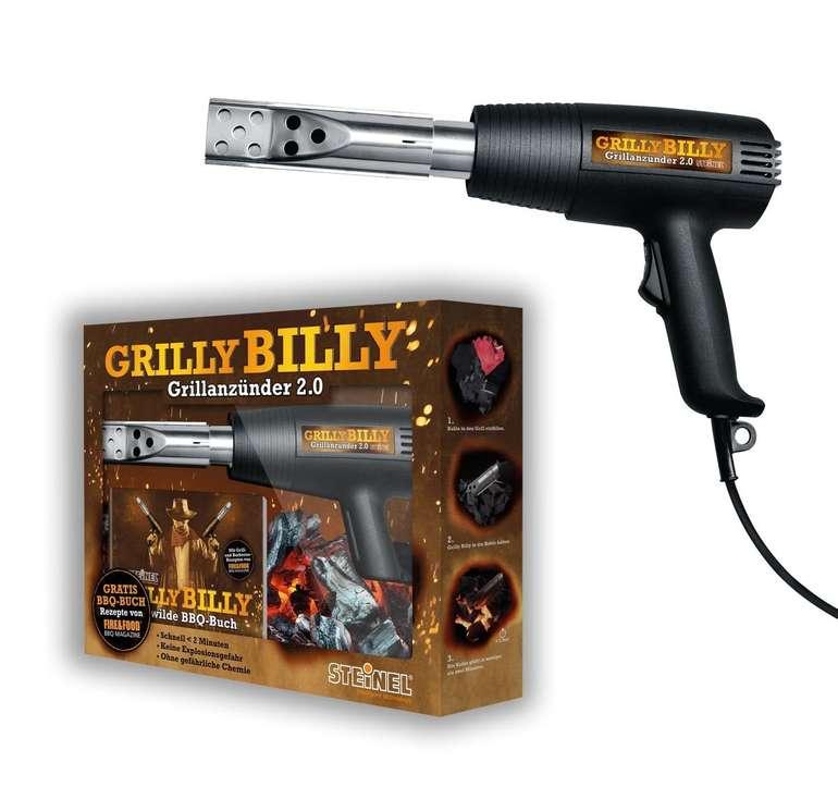 Steinel Grilly Billy 2.0 Grillanzünder (Heißluftpistole HL 1400, Rezeptbuch) für 14,99€ inkl. Versand (statt 20€)
