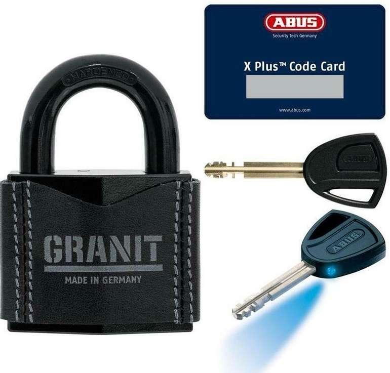Abus Granit 37/55 Vorhängeschloss Leder inkl. 2 Schlüssel und Karte für 49,90€ (statt 70€)