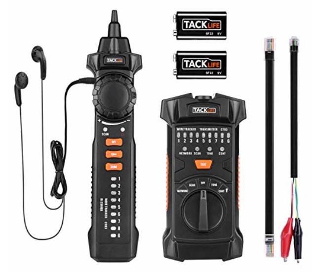 Tacklife CT03 Kabelfinder bzw. Leitungsdetektor für 13,69€ (statt 23€) - Prime Versand!