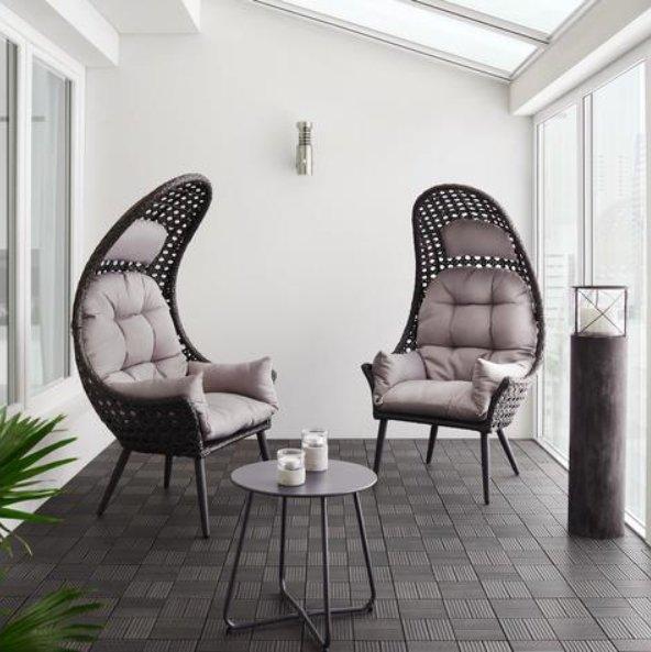 Bessagi Garten-Relaxsessel Timi inkl. Sitzkissen für 75€ inkl. Versand (statt 100€)