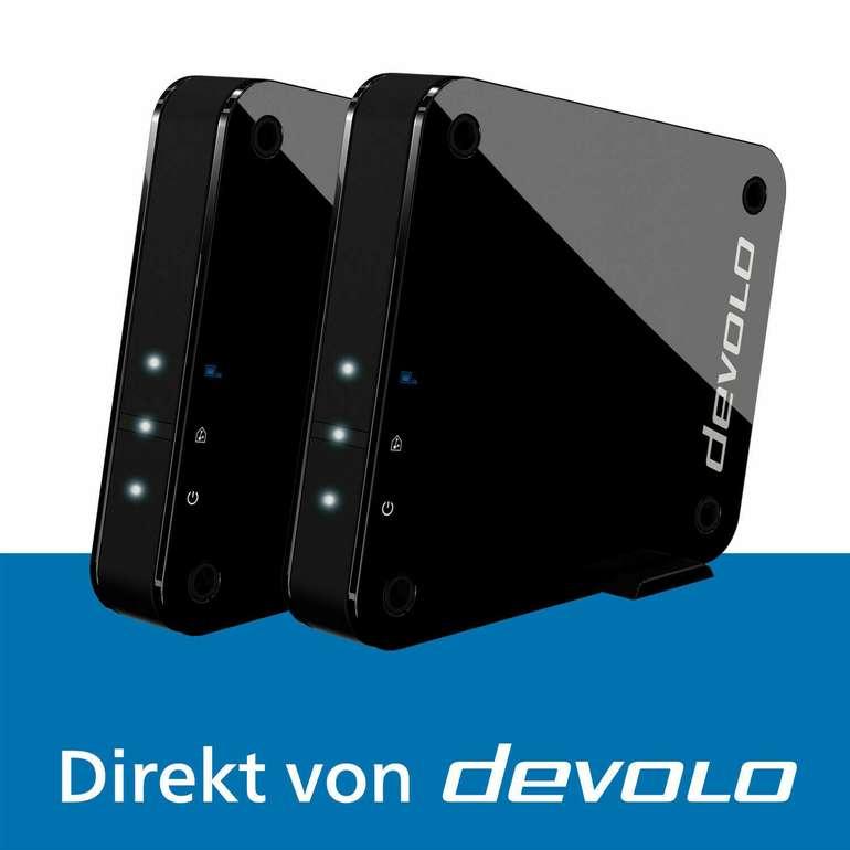 devolo GigaGate WLAN Starter Kit WLAN Bridge (2 Gbit/s, Wifi Booster) für 115€ inkl. Versand (statt 192€) - B-Ware!