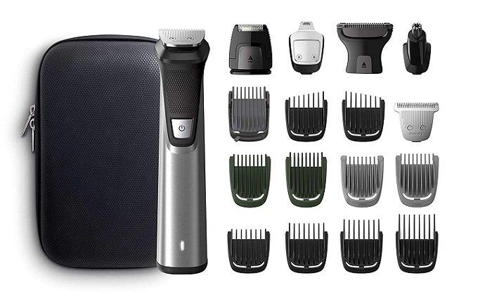 Philips Haar- und Bartschneider MG7770/15 + 18 Aufsätze für 80,80€ (statt 109€)