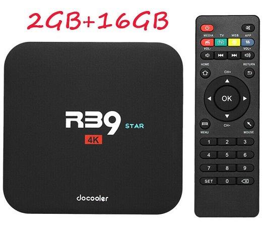 Docooler R39 STAR Smart TV Box mit Android & 4K für 24,99€ inkl. VSK