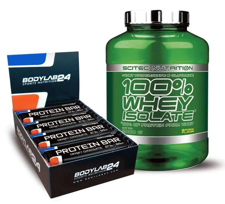 Whey Isolate (2000g) + BL24 Protein Bar (12x65g) für 39,99€ inkl. Versand (statt 53€)