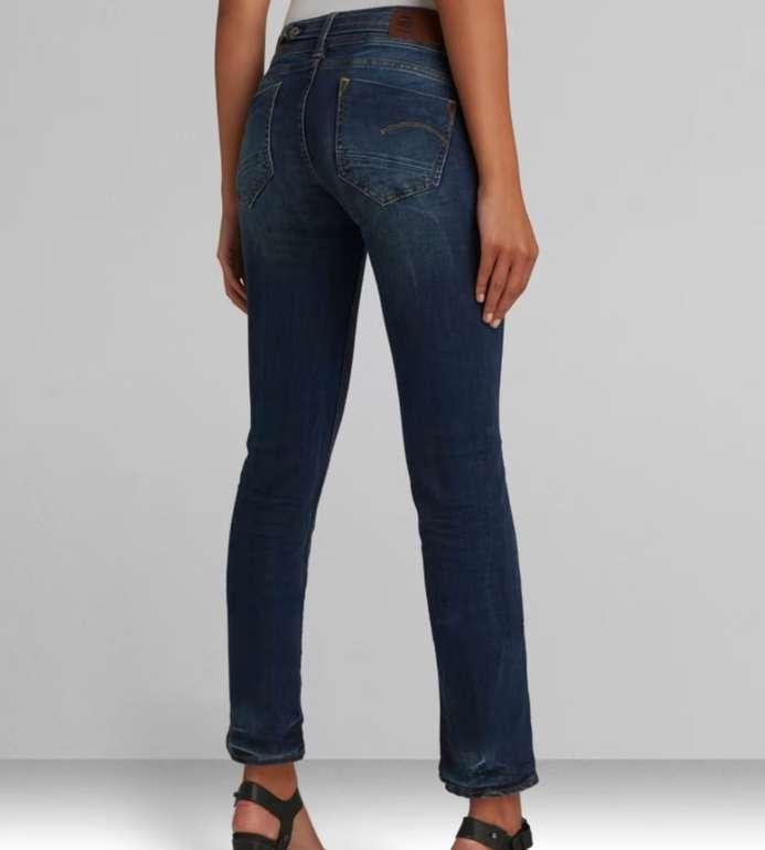 G-Star RAW Denim Days mit 20% Rabatt auf Jeans Hosen - z.B. Midge Saddle Straight Damen Jeans für 79,96€