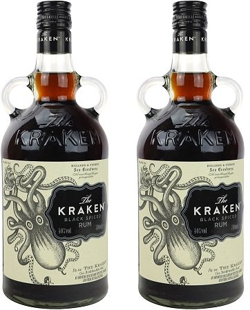 2 x 0,7 Liter Kraken Black Spiced Rum für 31,40€ inkl. VSK (statt 37€) Paydirekt