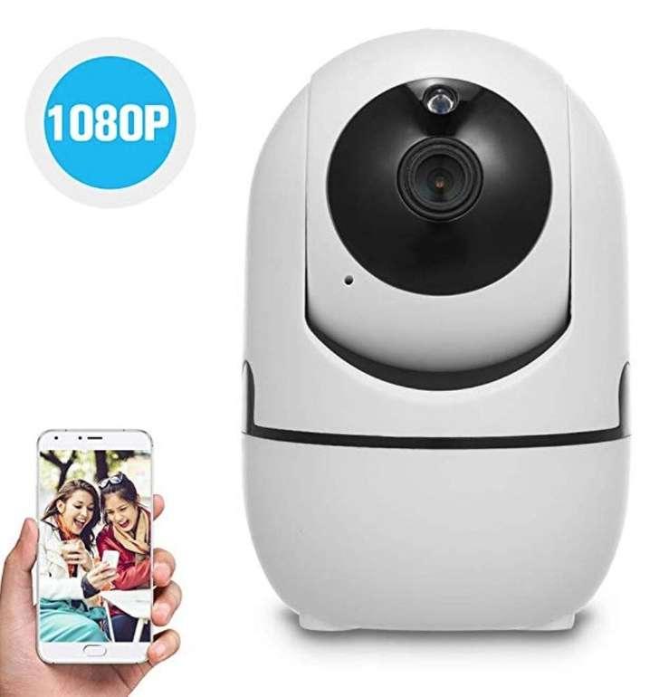 Owsoo 1080P WiFi-Kamera mit Bewegungserkennung, 2-Wege-Audio & Nachtsicht für 17,49€ (Prime)