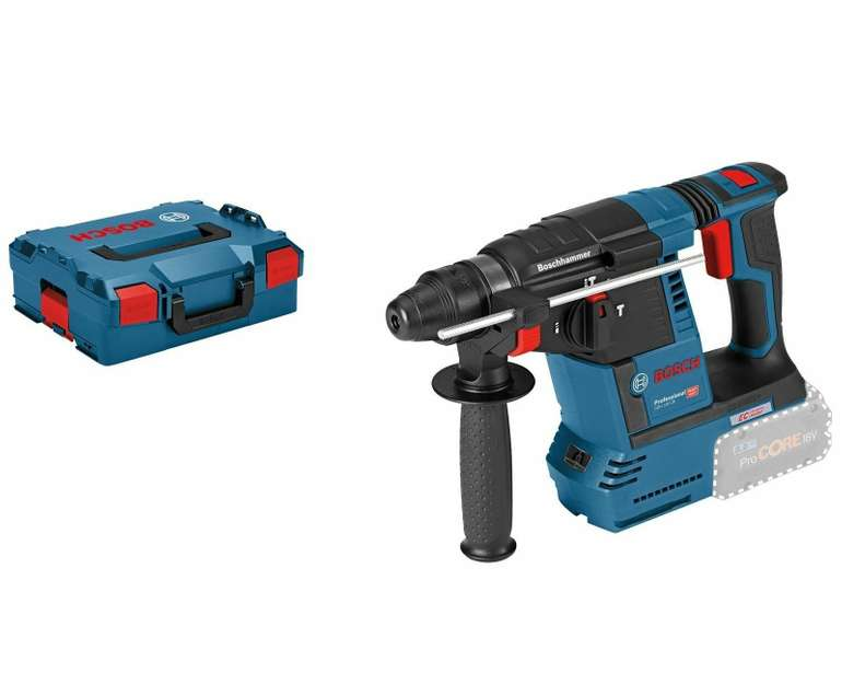 Bosch Akku-Bohrhammer GBH 18V-26 mit SDS plus 18 V Solo in L-Boxx für 178,69€ inkl. Versand (statt 204€)