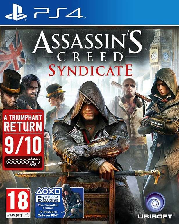 Assassin's Creed: Syndicate (PS4) für 11,95€ inkl. Versand (statt 24€)
