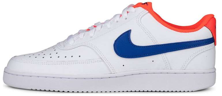 """Nike Court Vision Low Herren Sneaker im """"game royal/flash crimson""""-Colourway für 33,78€ (statt 45€)"""