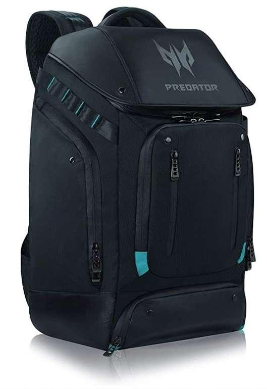 """Acer Predator Gaming Utility Backpack (für Laptops bis 17.3"""", wasserfest, versch. Zubehör Fächer) für 59,90€"""