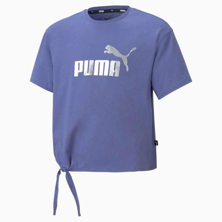 Puma Essentials+ Jugend T-Shirt mit Logo in 2 Farben für je 11,16€ inkl. Versand (statt 15€)