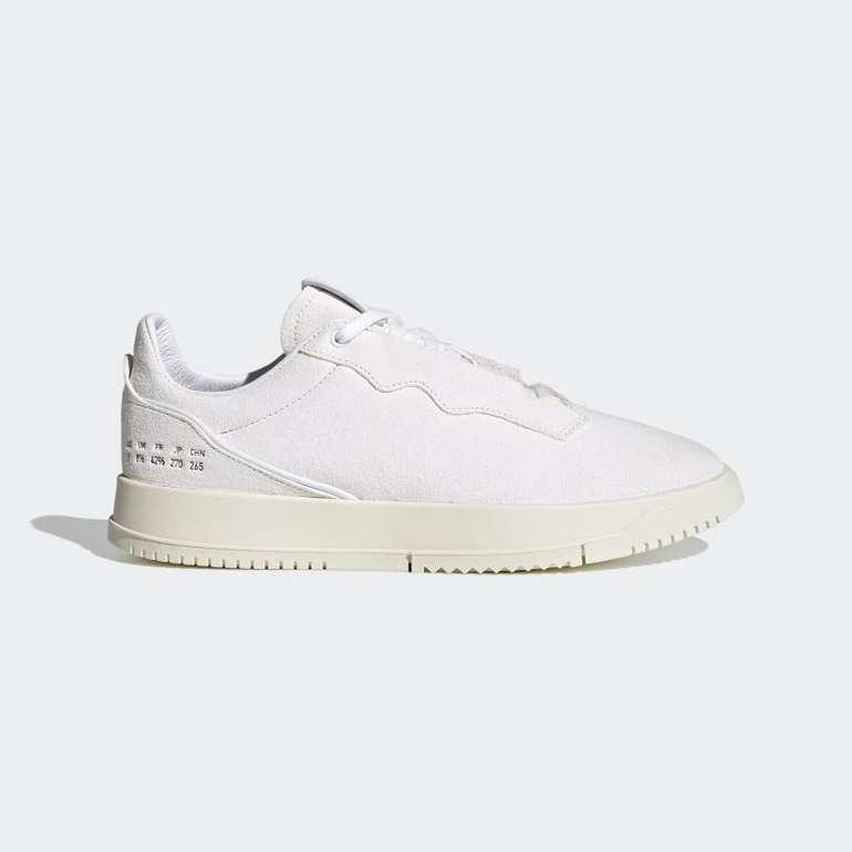 Adidas Supercourt Premium Sneaker in Weiß für 50,40€ inkl. Versand (statt 70€)