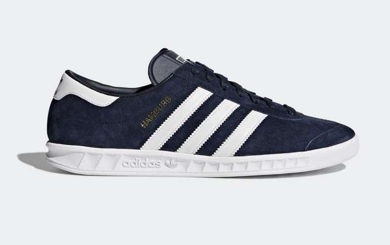 Adidas Originals Hamburg Unisex Schuh in 3 Farben für je 46,75€ (statt 63€)