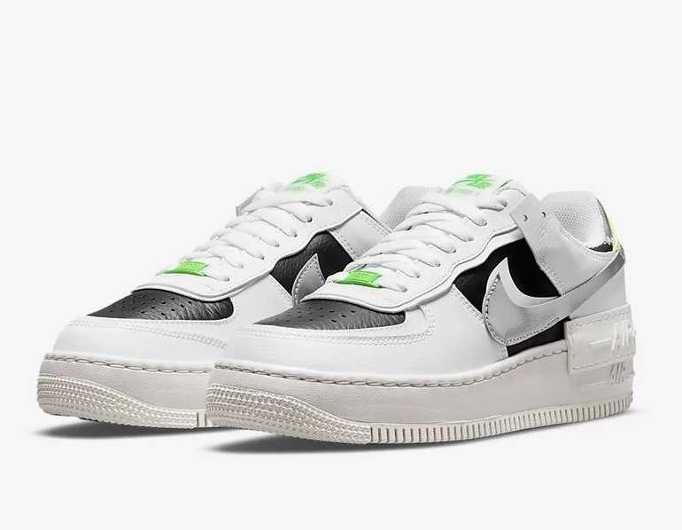Nike Air Force 1 Shadow Damen Sneaker in Weiß/Grün für 71,97€ inkl. Versand (statt 120€)