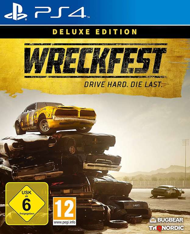 Wreckfest: Deluxe Edition (Xbox One, Playstation 4) für je 36,98€ inkl. Versand (statt 52€)