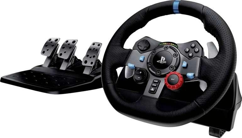 Logitech G29 Driving Force Rennlenkrad mit Pedale für 199€ inkl. Versand (statt 232€)