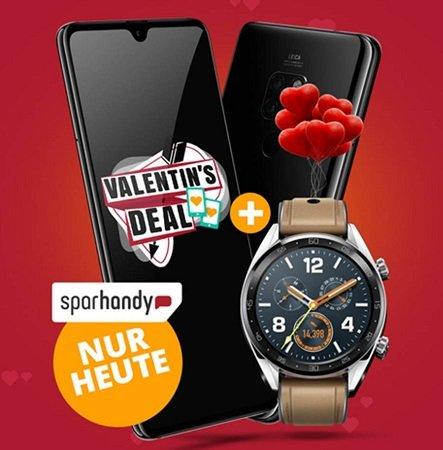 Otelo Vodafone 6GB LTE AllNet-Flat + Huawei Mate 20 + Watch GT für 29,99€ mtl.