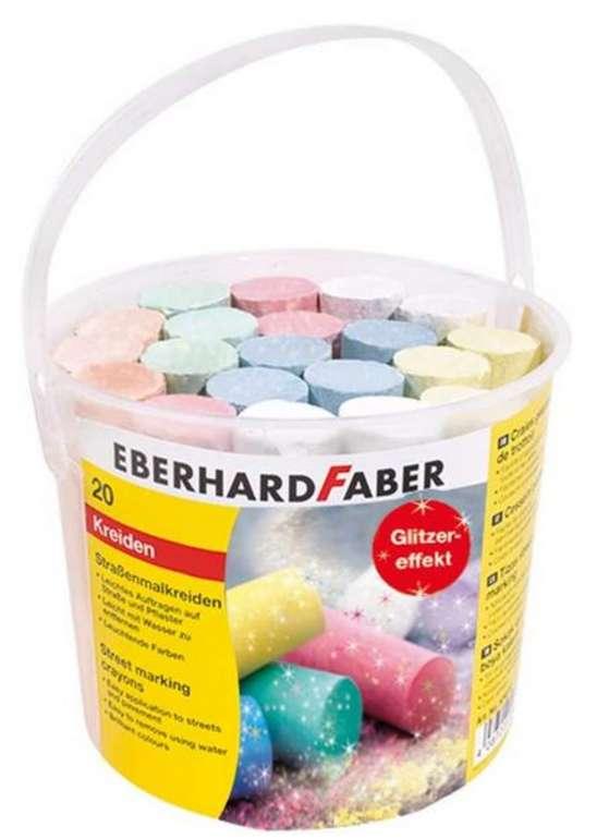 Eberhard Faber 526520 Straßenmalkreide (20er Eimer) für 4,39€ inkl. Versand (statt 8€) - Thalia Club!