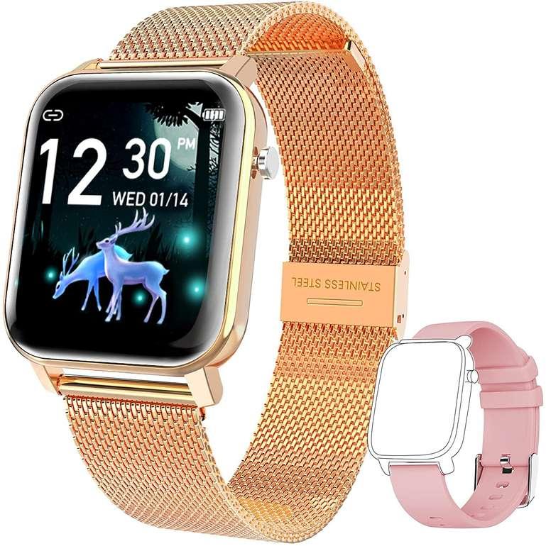 """Kospet GTO Smartwatch mit 1,4"""" IPS Display (IP68, Schrittzähler, Musiksteuerung) für 24,49€ inkl. Versand (statt 49€)"""