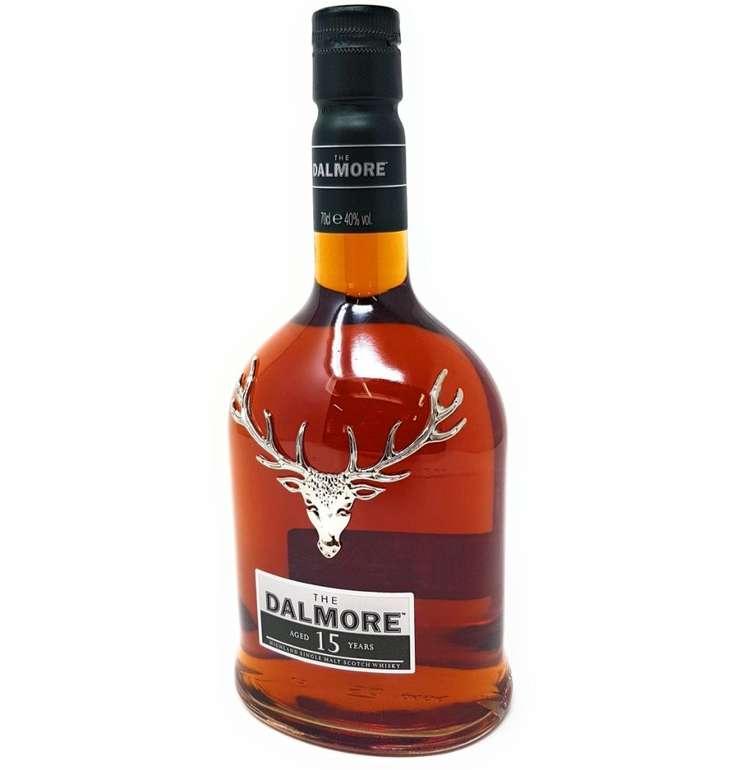 Dalmore 15 Jahre Single Malt Scotch Whisky (40% Vol., 0.7 Liter) für 54,99€ inkl. Versand