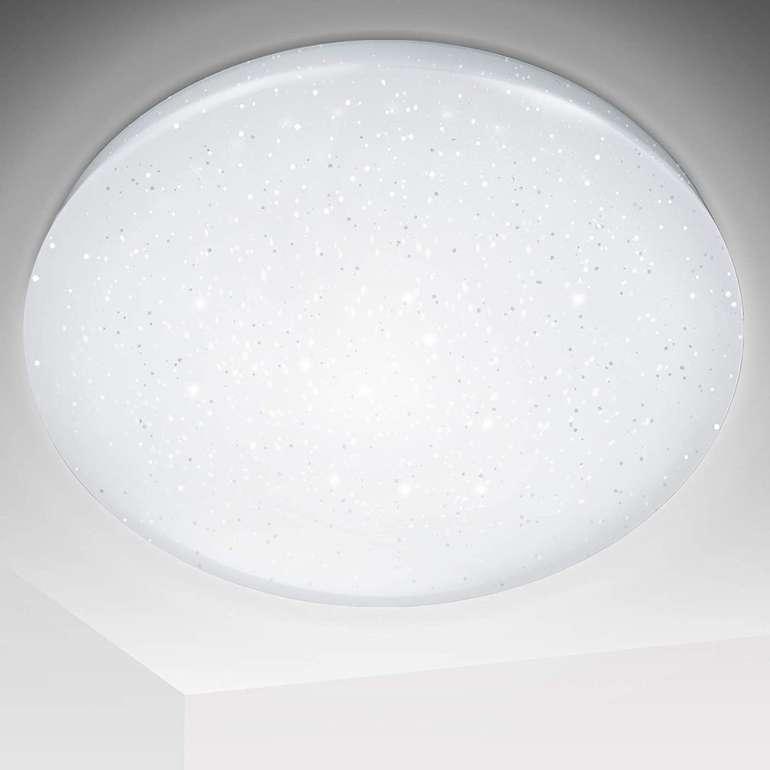 30% Rabatt auf verschiedene Hengda LED Deckenleuchten, z.B. 16W Sternendekor für 13,99€ inkl. Prime Versand (statt 20€)