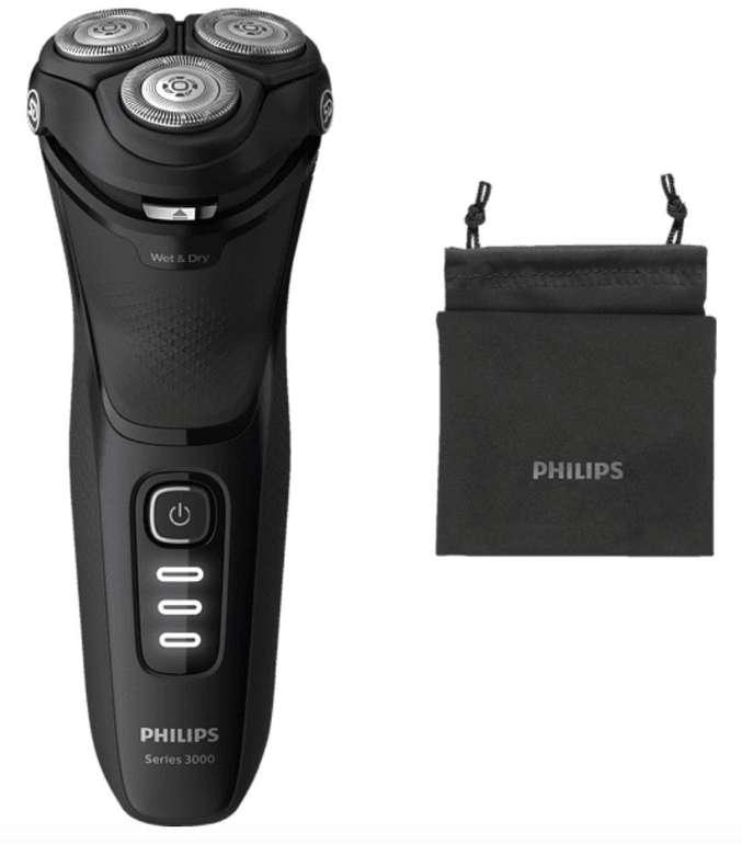 Philips S3233/52 Series 3000 Rasierer (PowerCut-Schersystem) für 43,99€ inkl. Versand (statt 56€) - Otto App!