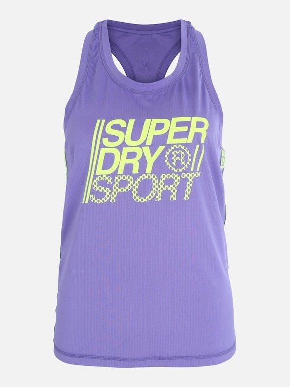 Superdry Damen Sport-Top 'Core Loose' für 26,91€ inkl. Versand (statt 30€)