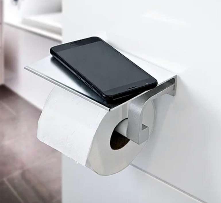 EASYmaxx Toilettenhalterung mit Smartphone-Ablage für 7,95€ inkl. Versand (statt 15€)