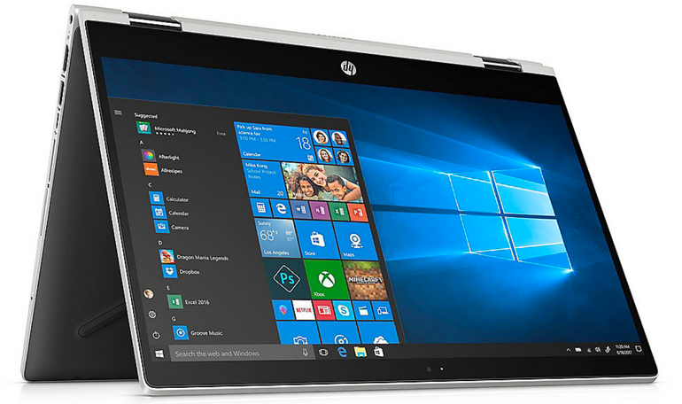 "HP Pavilion x360 15-cr0404ng - 15.6"" Convertible (8GB RAM, I3-8130U) je 466,95€"