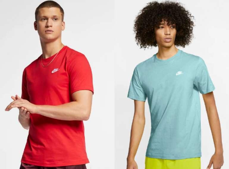 Nike Sportswear Club Herren-T-Shirt in vers. Farben für 15,99€ inkl. Versand (statt 18€)
