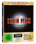 Iron Man Trilogie - Limited 4K Ultra HD Edition (Steelbook) für 45,98€ inkl. VSK