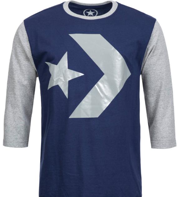 Converse Wade Sale mit bis zu 86% Rabatt - z.B. Herren 3/4 Arm Shirt für 7,99€