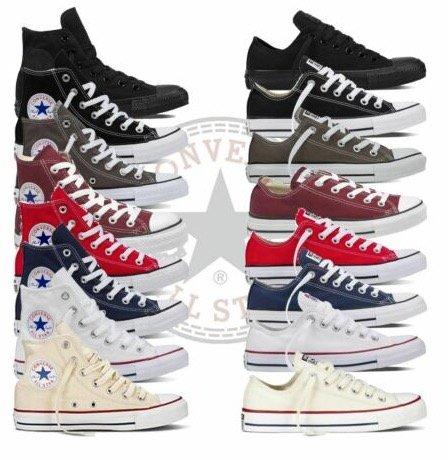 16 verschiedene Converse Chucks All Star für Damen und Herren…