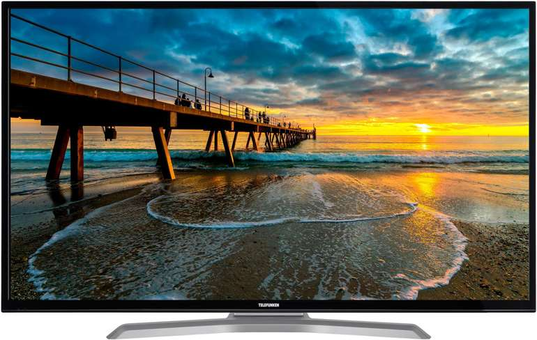 """Telefunken D49U700M4CWH 49"""" LED-Fernseher (4K Ultra HD, Smart-TV, WLAN) + 3 Jahre Garantie für 298,25€ inkl. Versand"""