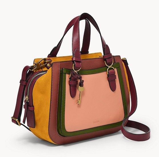 Fossil Satchel Brooke Tasche für 86,80€ (statt 124€)