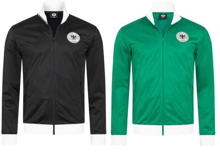 DFB Fanatics Classics Retro Trainingsjacke in schwarz oder grün für 27,94€inkl. Versand (statt 35€)