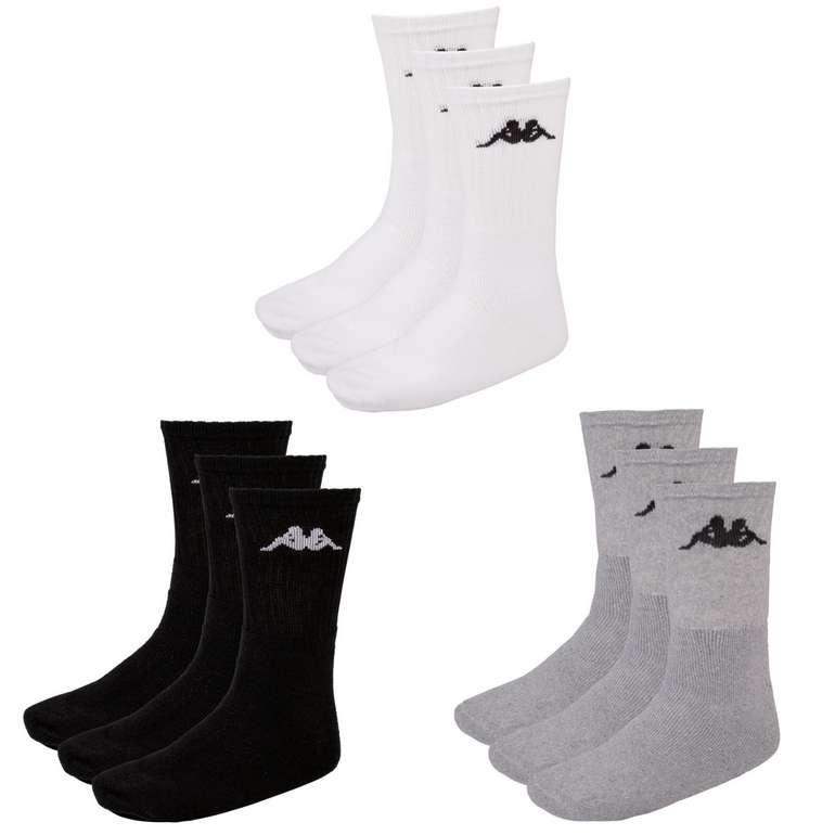 12er Pack Kappa Socken (in 3 Farben) für je nur 17,95€ inkl. Versand