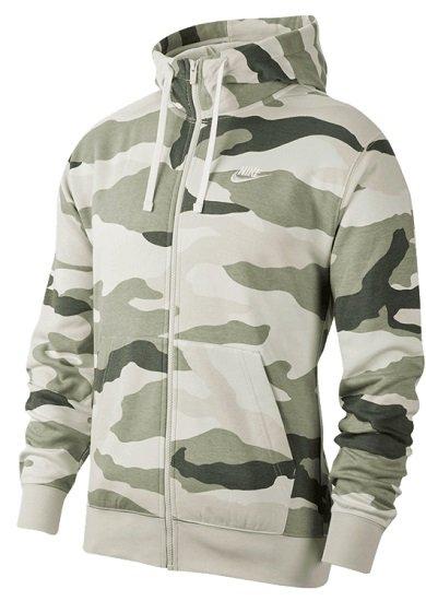 Nike Sportswear Club BB Camo Kapuzenjacke in 3 Farben je nur 43,71€ inkl. VSK (statt 63€)