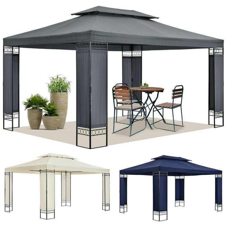 ArtLife Capri - Garten Pavillon (300 x 400cm) für 119,95€ inkl. Versand (statt 130€)