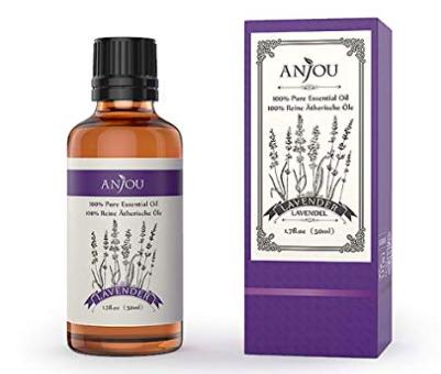 Anjou - 50ml Ätherisches Lavendel Öl für 9,99€ inkl. Prime Versand (statt 13€)