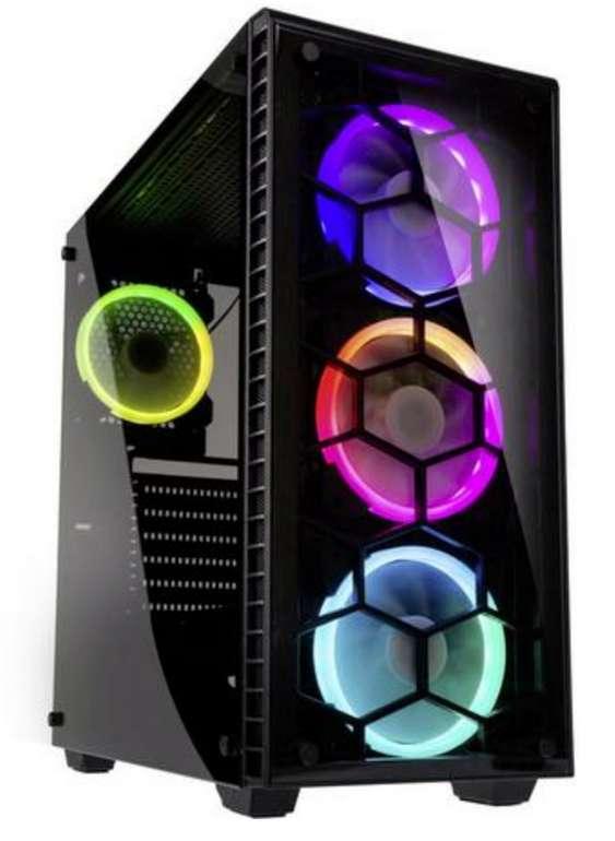 Bestpreis: Kolink Observatory RGB Midi-Tower PC-Gehäuse in schwarz für 61,38€ inkl. Versand - Sofortüberweisung