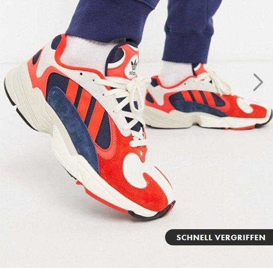 Asos Schuhe (Herren) im Sale mit bis zu 50% Rabatt + 20% Extra - z.B. adidas Yung-1 für 59,99€