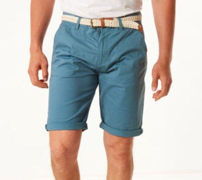 3er Pack Esprit Bermuda-Shorts mit Flechtgürtel (versch. Farben) für 62,97€ inkl. Versand (statt 90€)