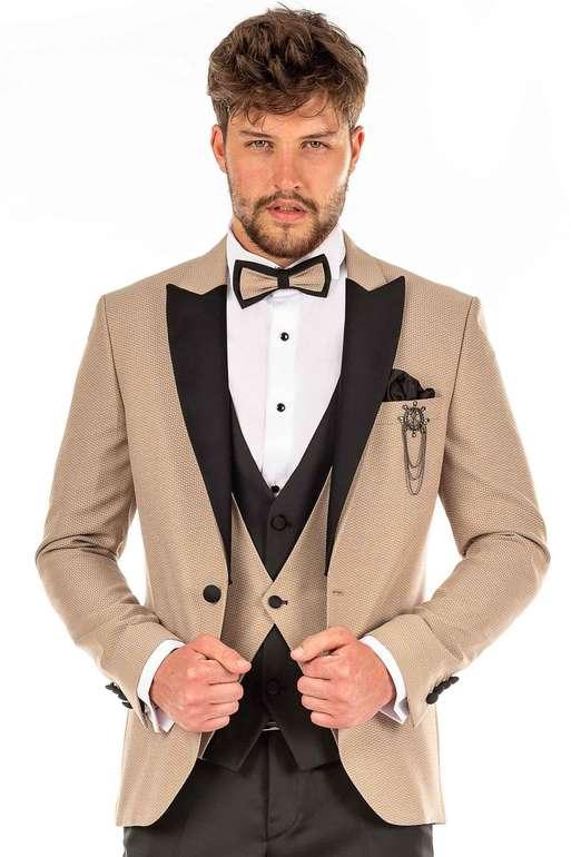Prestije Mode Sale mit 30% Extra Rabatt + VSKfrei - z.B. Fünfteiliger Bräutigam Anzug für 241,84€