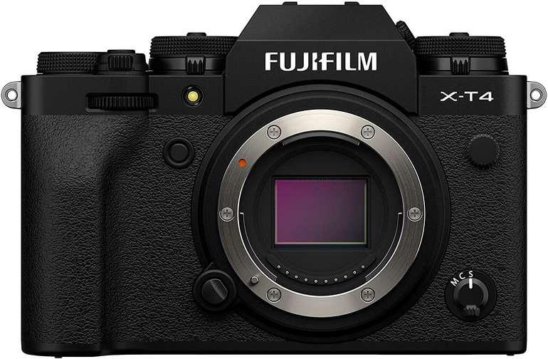 Fujifilm X-T4 Systemkamera (26,1 Megapixel, X-Trans CMOS 4 Sensor, Touch-LCD) für 1.433,34€ inkl. Versand
